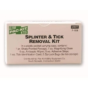PAC-KIT SPLINTER & TICK REMOVAL KIT