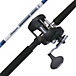 SHAKESPEARE STURDY STIK TROLLING COMBINATION ROD/REEL