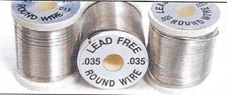 WAPSI ROUND LEAD-FREE WIRE