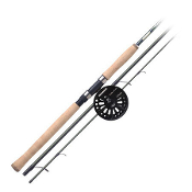 AMUNDSON SAVVY EDGE FLOAT/CENTERPIN 3-PIECE ROD COMBO