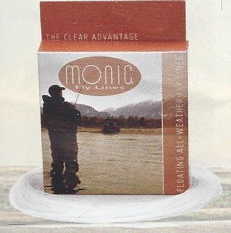MONIC ALL-WEATHER CLEAR FLOATING FLY LINE
